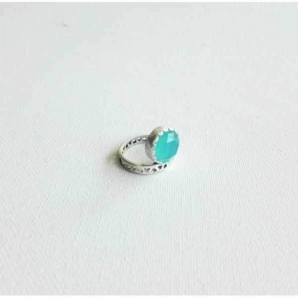 Δαχτυλίδι με τυρκουάζ αχάτη, Rinri-5