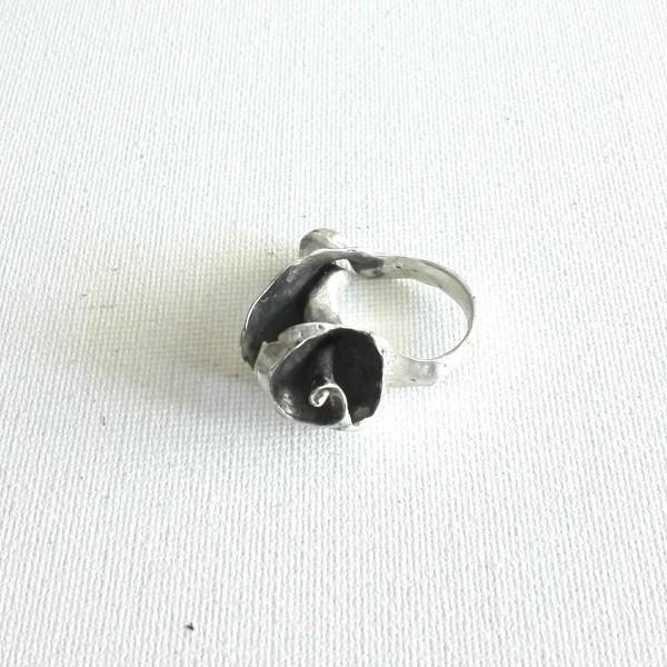 Δαχτυλίδι κοχύλι σε ασήμι Sheri-1